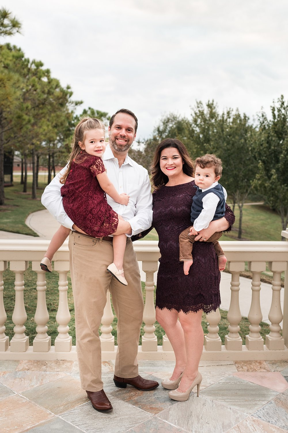 Family portrait bennett brown photography Houston Texas