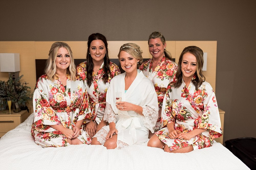 Wedding photography bridal party bridesmaids