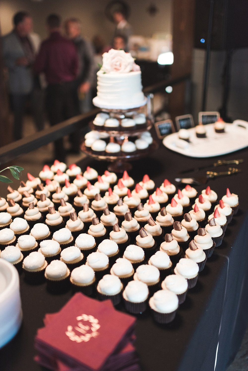 Wedding photography reception cupcake dessert Wedding cake wedding details