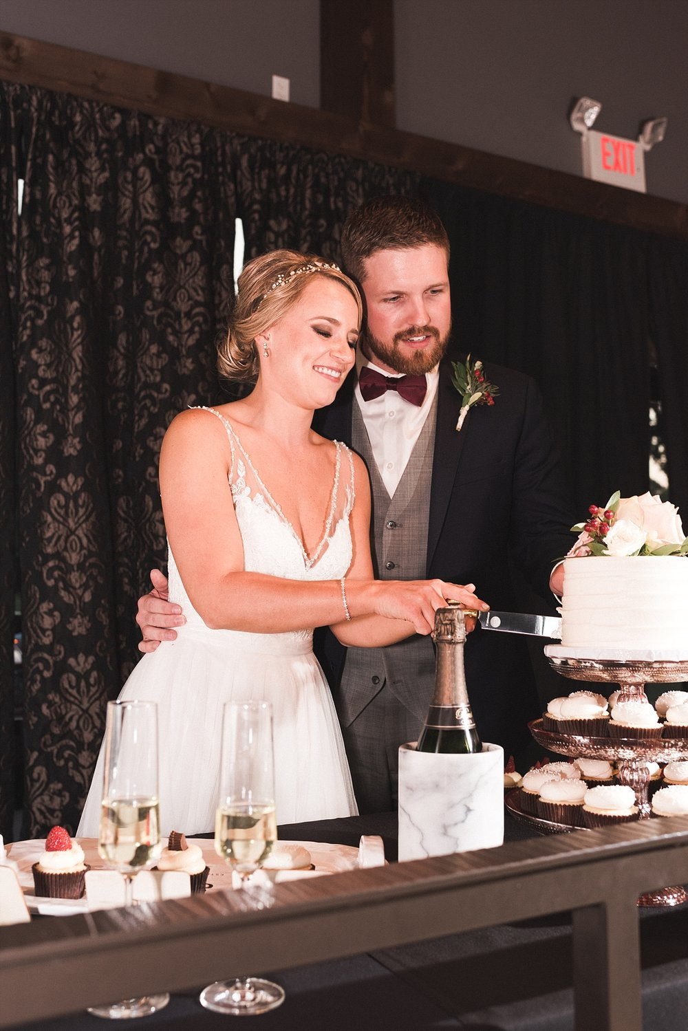 Bride groom Wedding photography reception cupcake dessert Wedding cake wedding details