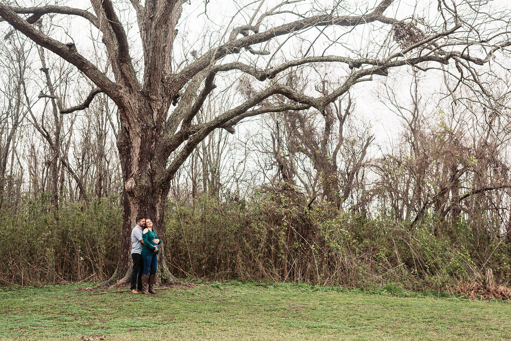 Bennett Brown Photography Maternity session outdoor Houston Texas