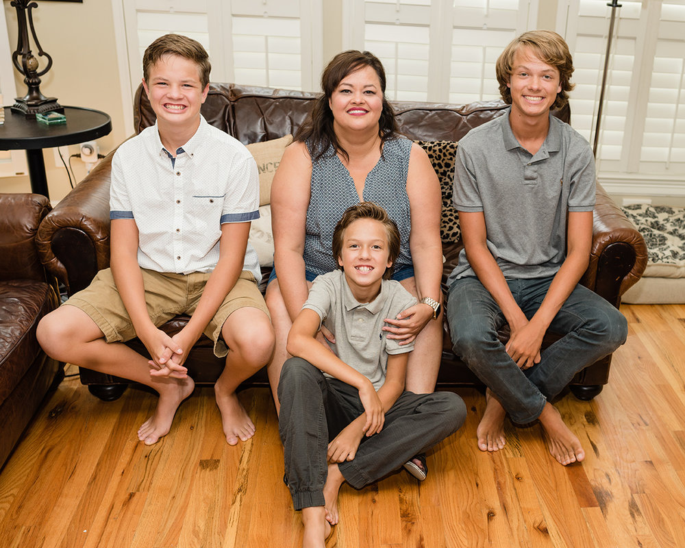 Bennett Brown Photography Family portraits generations Houston Texas