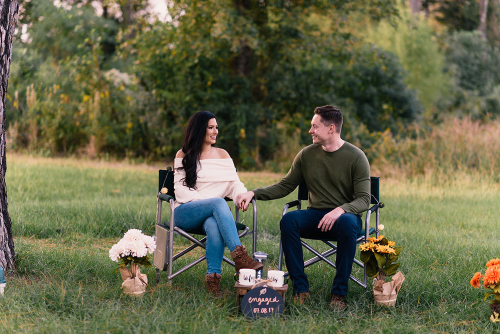Bennett Brown Photography Houston Texas Engagement shoot Outdoors flowers couple