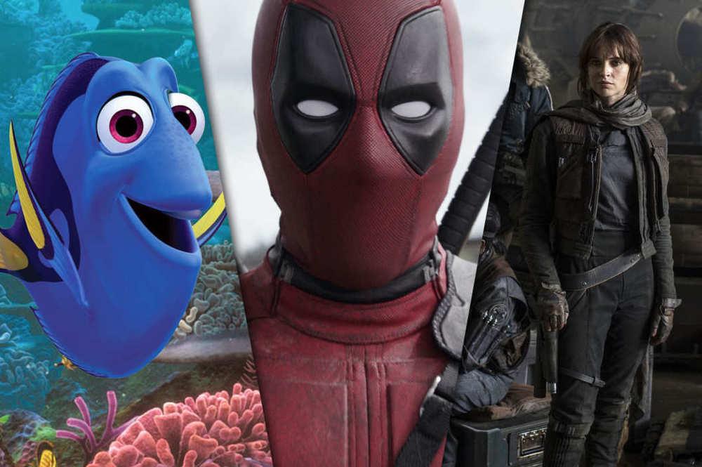 Photo Courtesty of Pixar, Twentieth Century Fox and Lucasfilm
