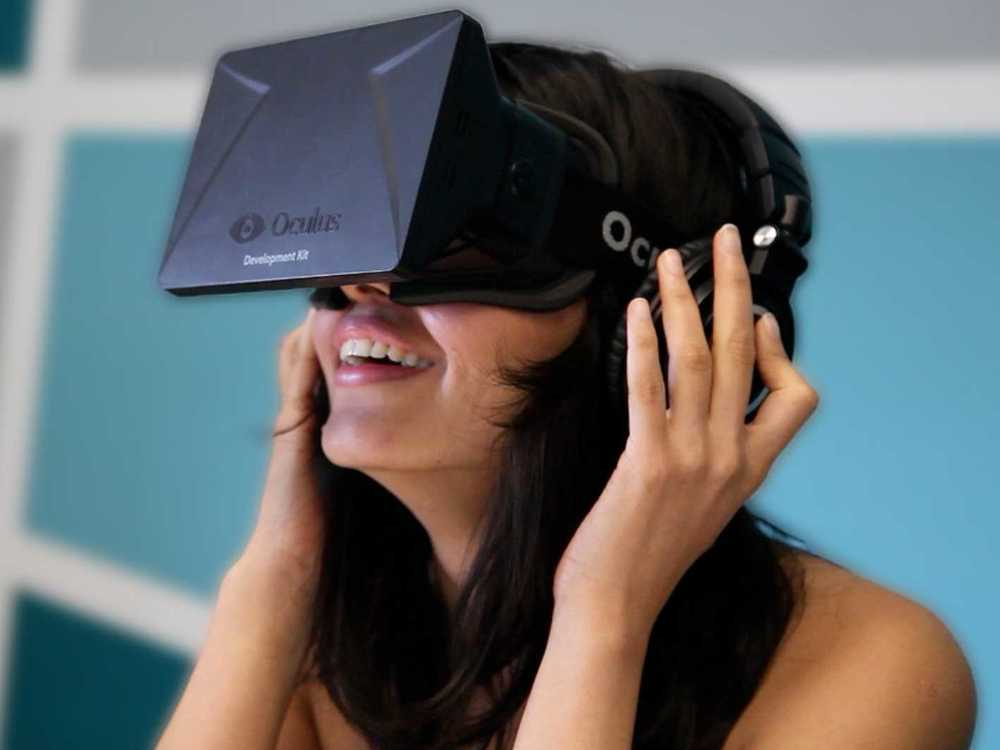 Oculus Rift. Photo Courtesy of Will Wei