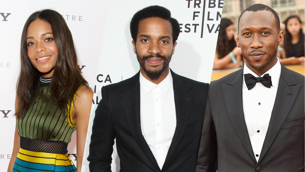 Naomie Harris, André Holland and Mahershala Ali. Photo Courtesy of Rex Shuttershock