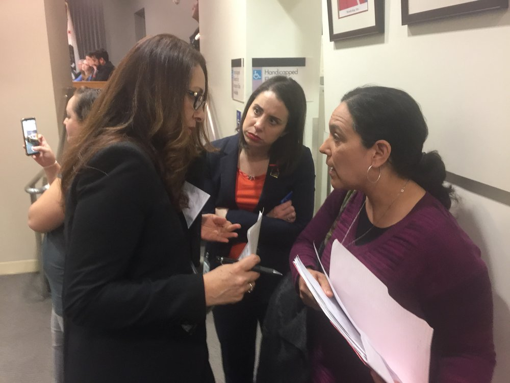 Speak UP's Eve Jimenez (right) Discusses the Challenges Of Getting English Language Learners Help