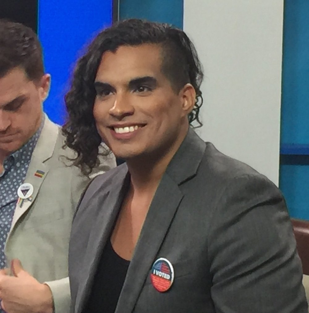 Transgender parent Justine Gonzalez