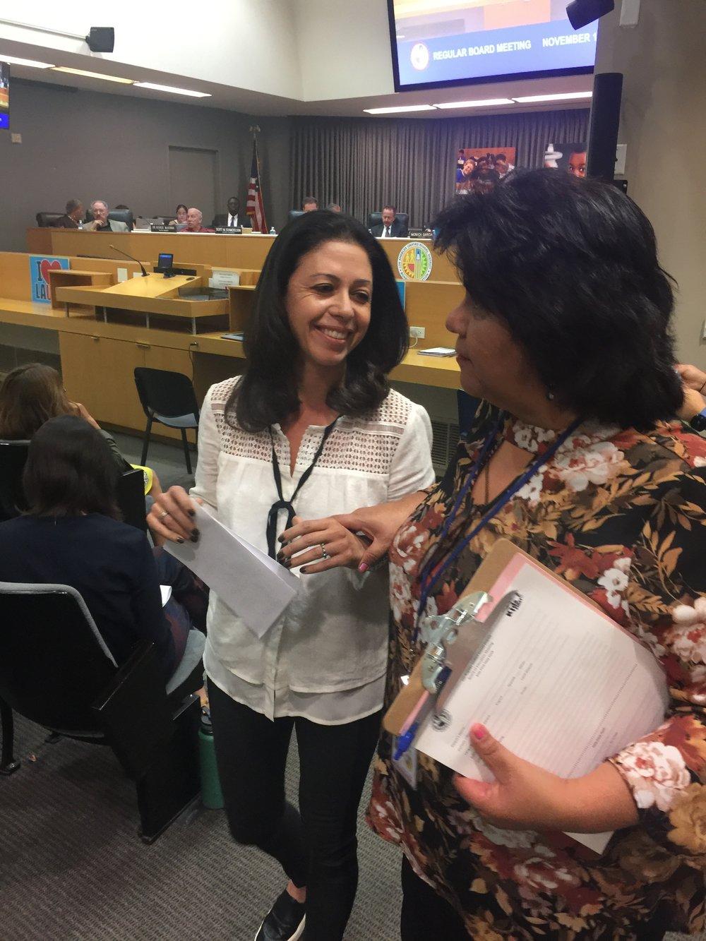 Speak UP's Daphne Radfar asks LAUSD to be more transparent with parents