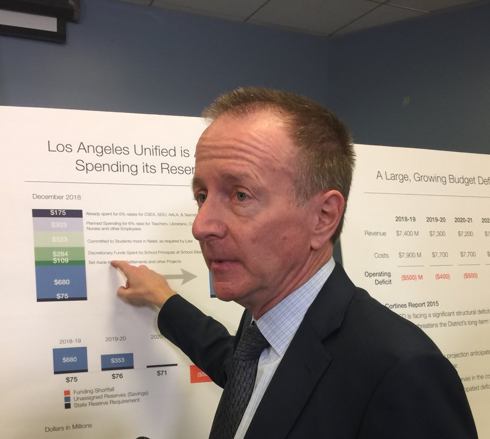 Superintendent Austin Beutner explains how LAUSD's reserves are being spent on employee raises and students most in need.