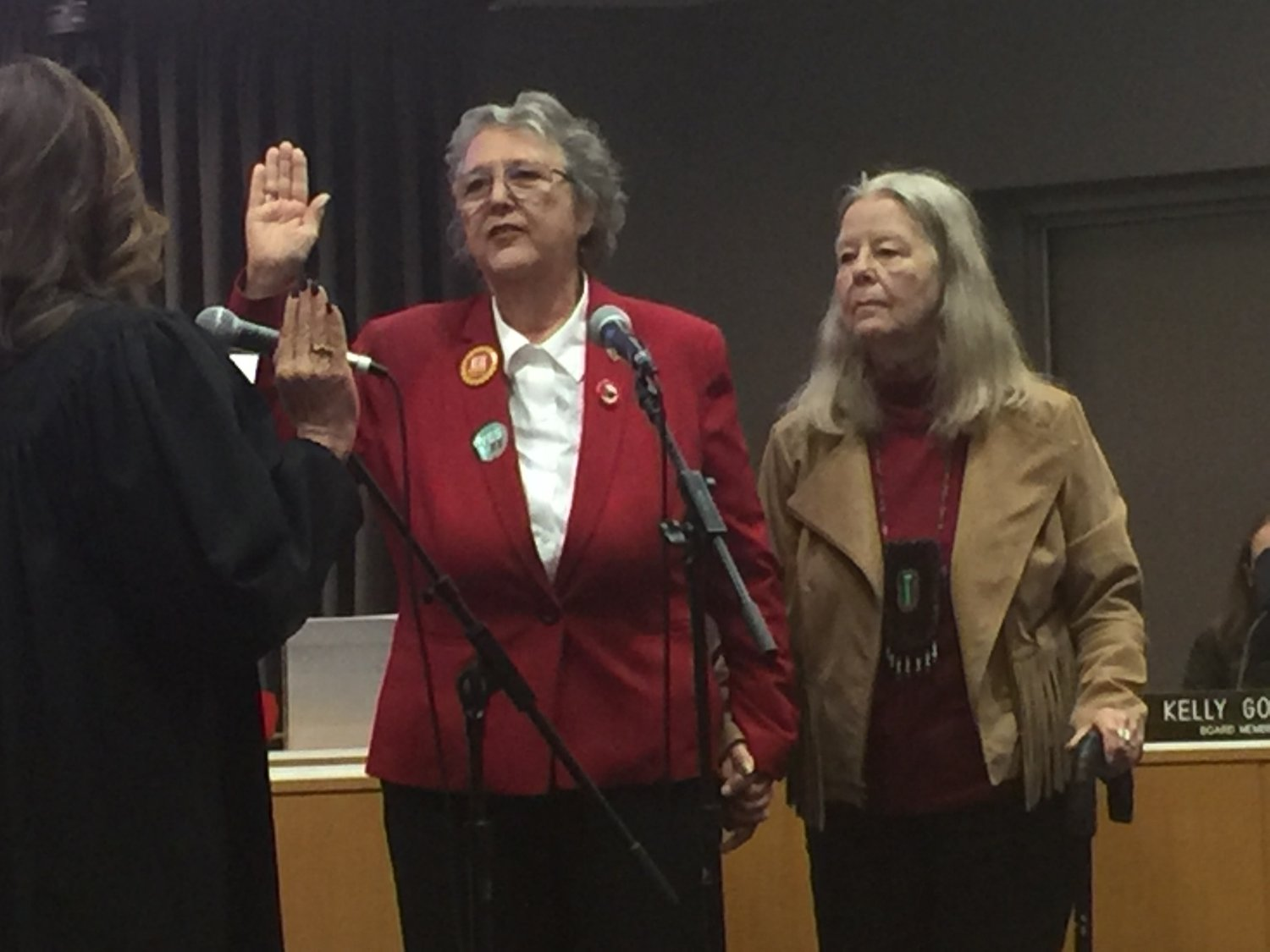 New Report Paints Californias Charter >> After Swearing In Goldberg Calls For Supporters To Campaign For Ee