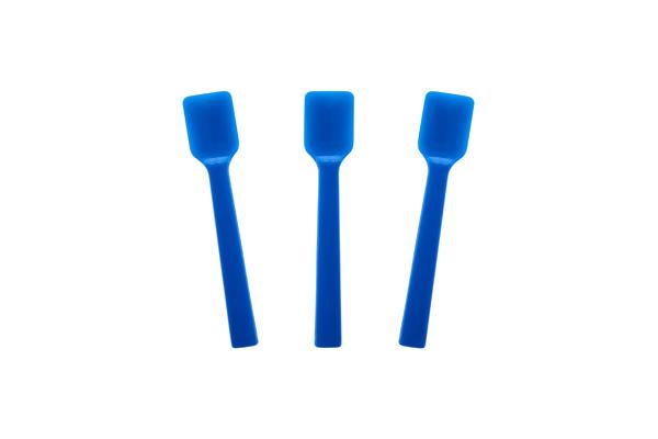Solid Blue Gelato Spoon