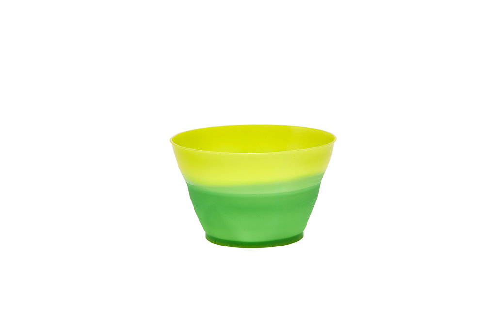 Color Changing Ice Cream Cup Yellow to Green