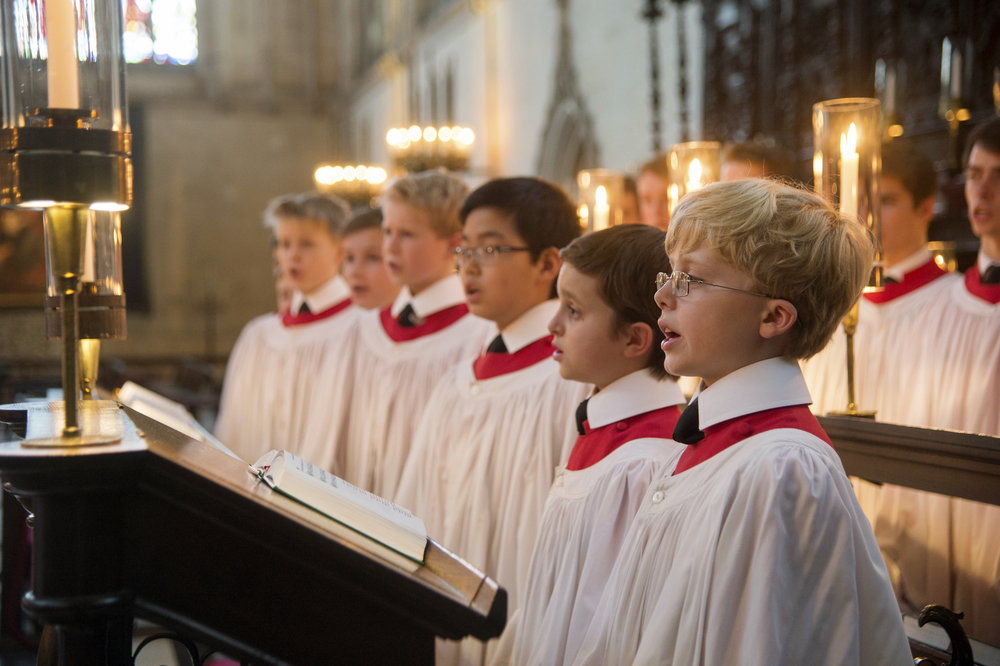 Choir of King's College, Cambridge © 2015