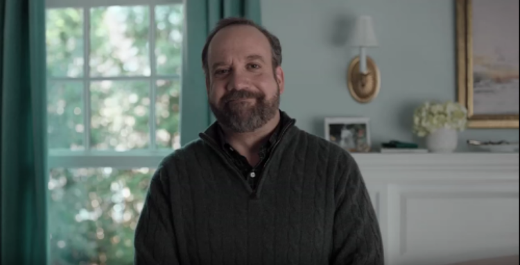 Paul Giamatti and his TV family show us how *NOT* to use 'yes and.' Thank you, paul! (screenshot: Centurylink)