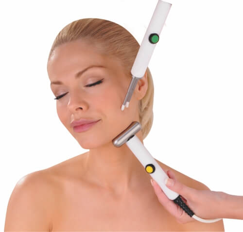 Jowl Lift with CACI microcurrent