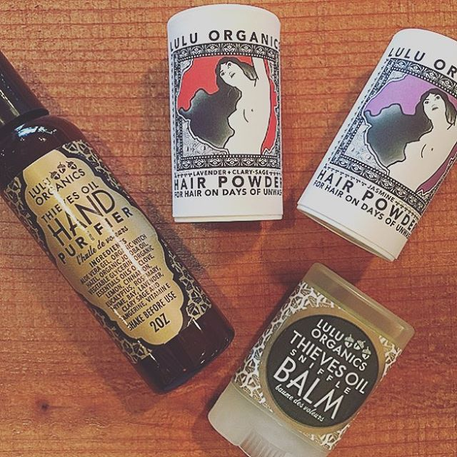 Enviable stocking stuffers for them. Holiday travel essentials for you. Gorgeously crafted by @luluiswho . . . . #giftideas #gift #ojai #stockingstuffers #travelsize #hairpowder #shopsmall #shoplocal #holidayshopping