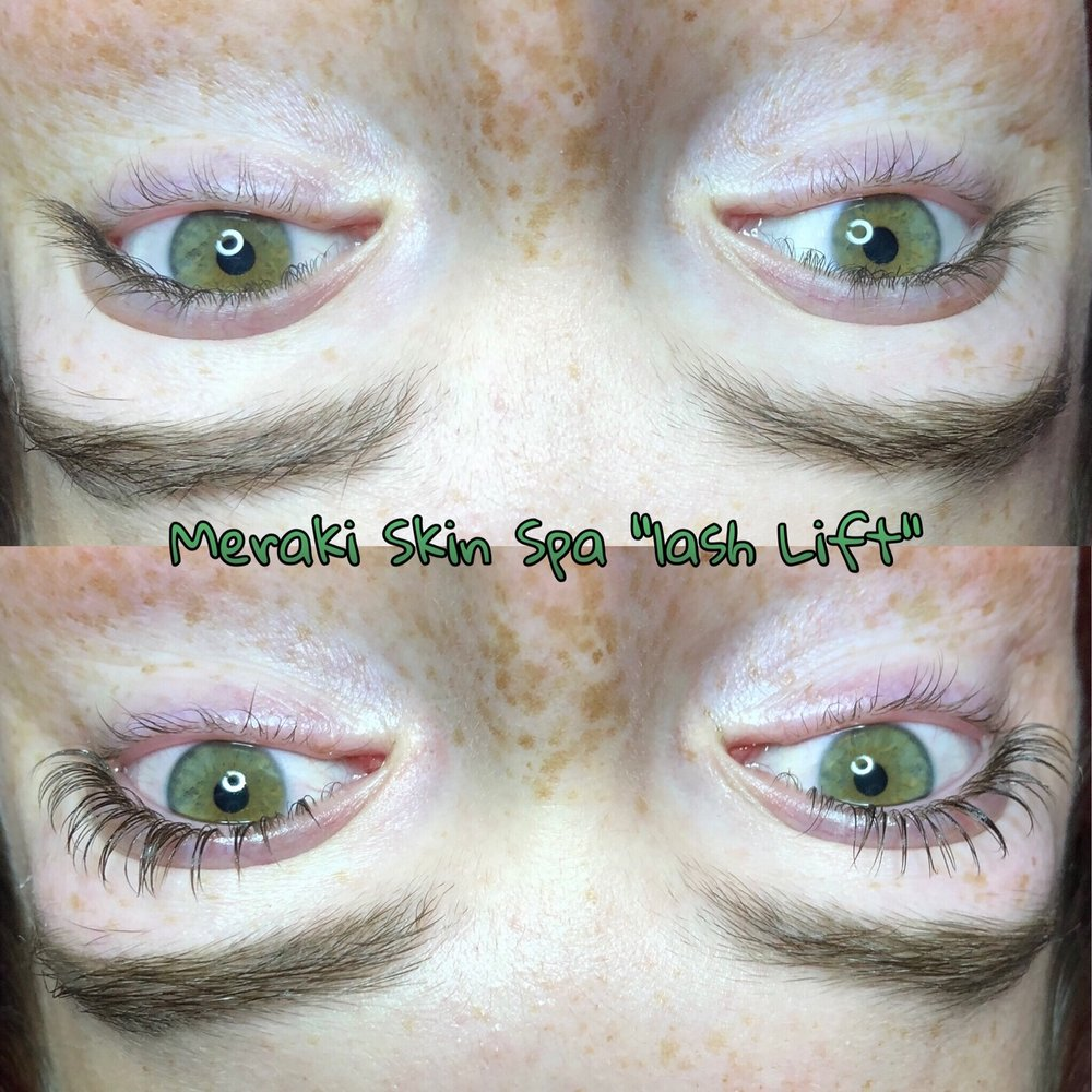 Lash Lift - lash perm - alt text