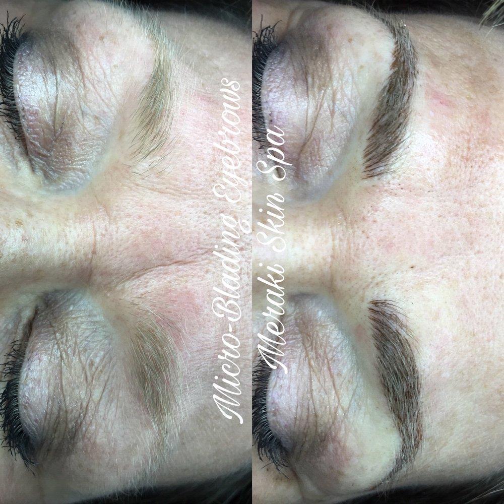 alt text meridian Idaho permanent tattooed eyebrows