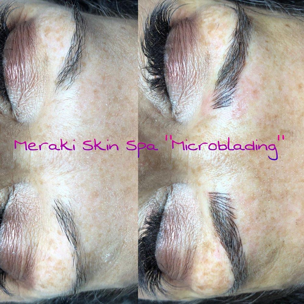 alt text tracy microblading - meridian Idaho - permanent eyebrows