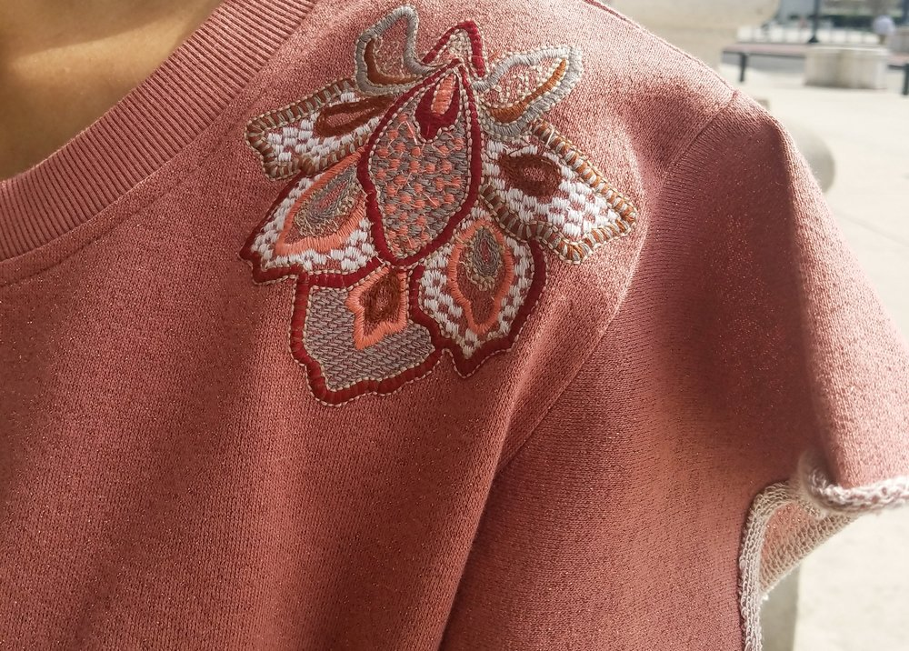 I mean how can you not fall in love with this embroidery and the sleeves?