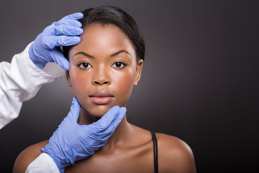 cosmetic treatments for dark skin