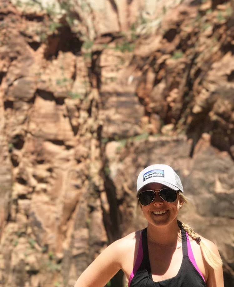 """CHELSEA - SALT LAKE CITY, UTAH """"I can't tell you how much I love my Adventure Assist travel notebook!"""""""
