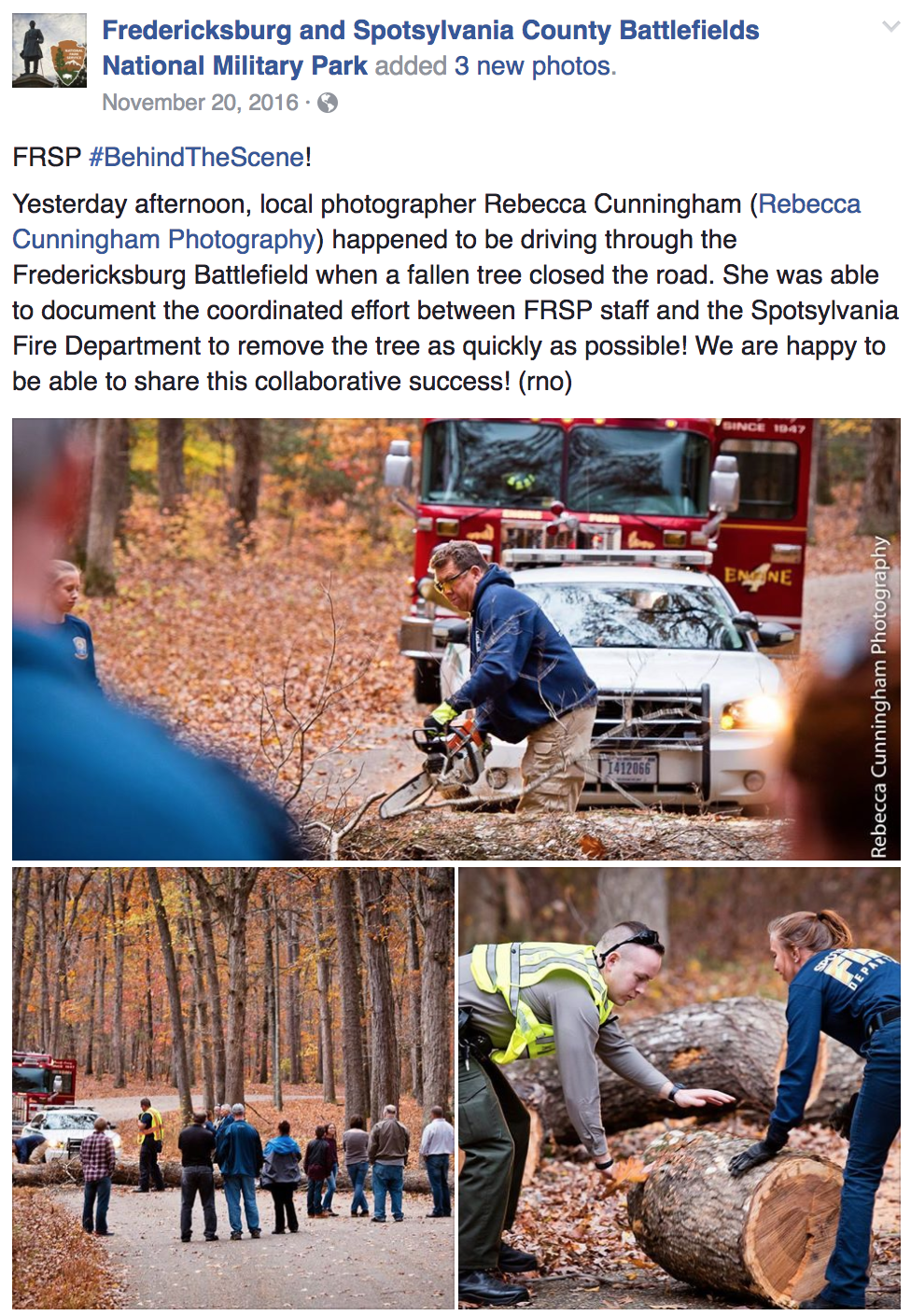 Social Media: National Park Service