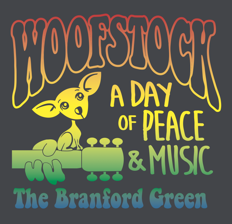 Woofstock T-Shirt Front