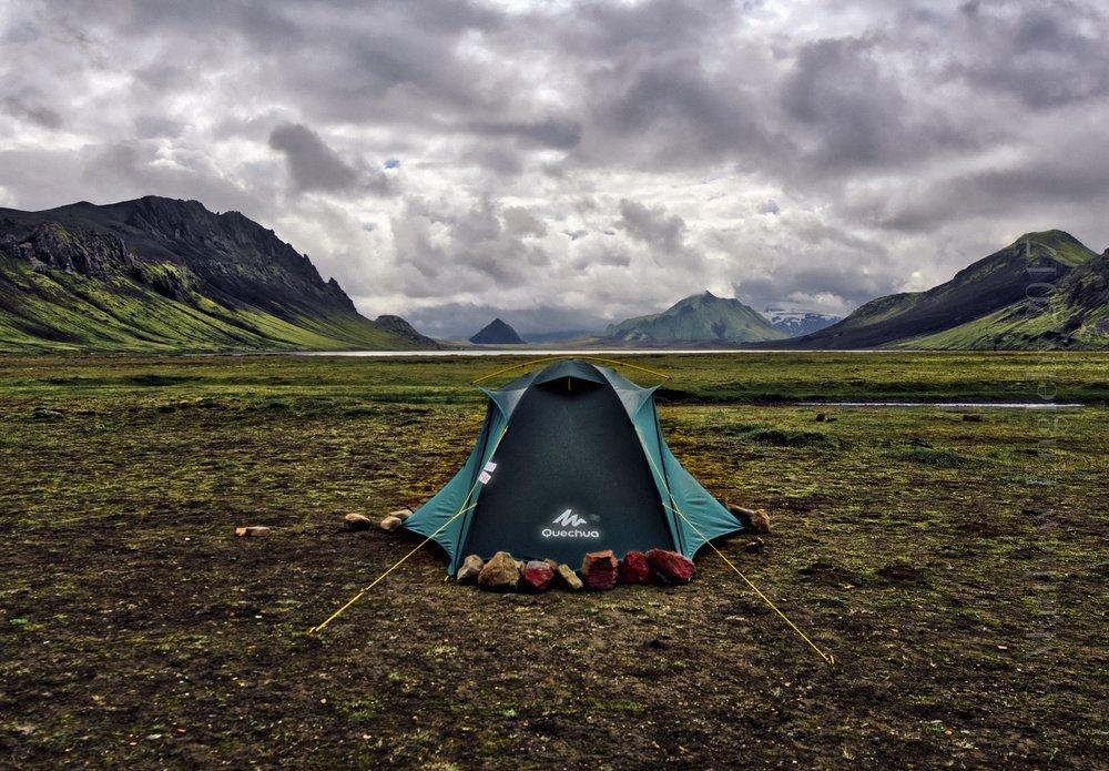 Landmanlauger Trail, Iceland