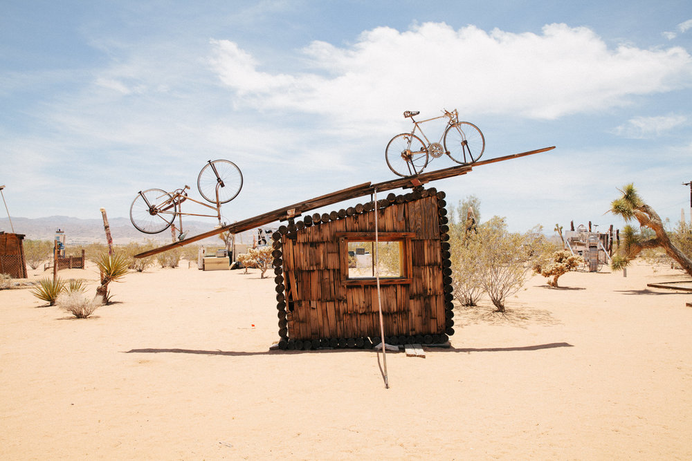 THE CULTURAL LANDSCAPE FOUNDATION: NOAH PURIFOY DESERT ART MUSEUM