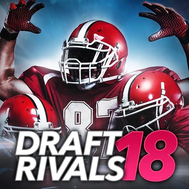 DRAFT RIVALS: FANTASY FOOTBALL!! Launches next week! DM to be added to the Apple beta! iOS launch next week! #nfl #football #draftrivals
