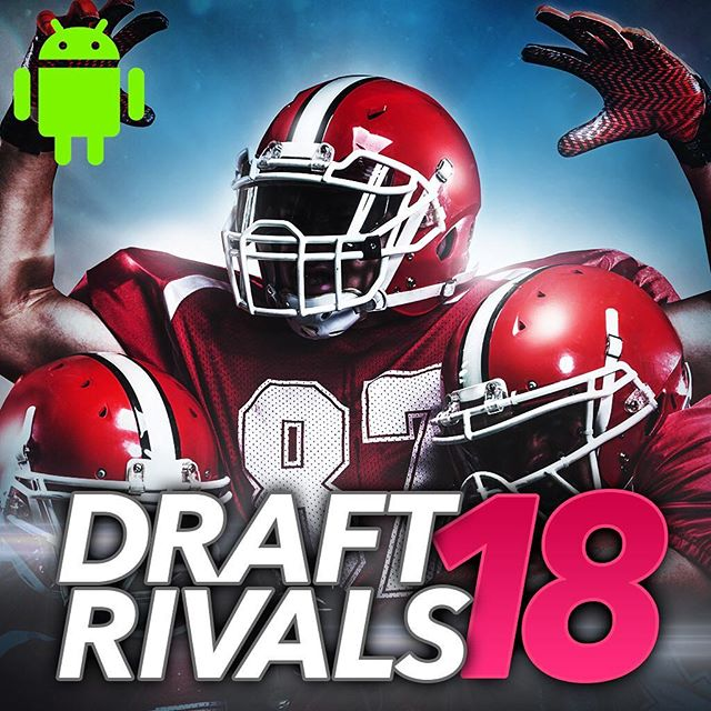 Annnnnnnddd Android is out! Download today in iTunes and the Play Store! #draftrivals