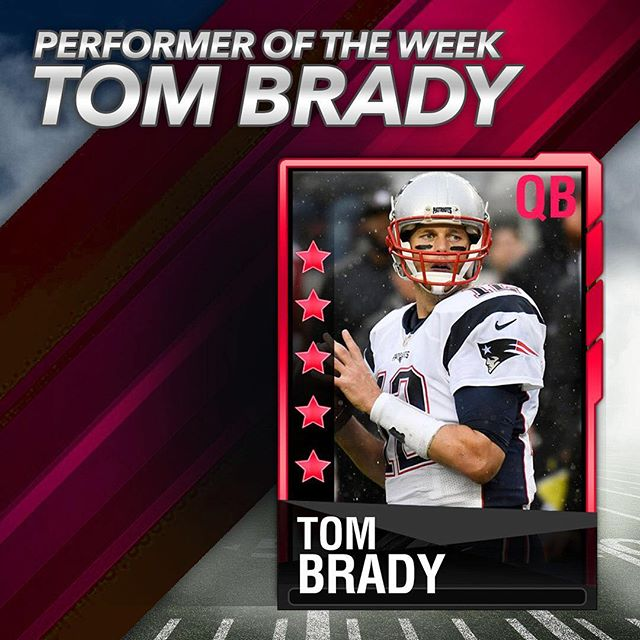 Our performer of the week! The GOAT took out his Week 1 frustrations on the Saints passing for over 400 yards and 3 TD's #patriots #nfl #fantasyfootball #draftrivals