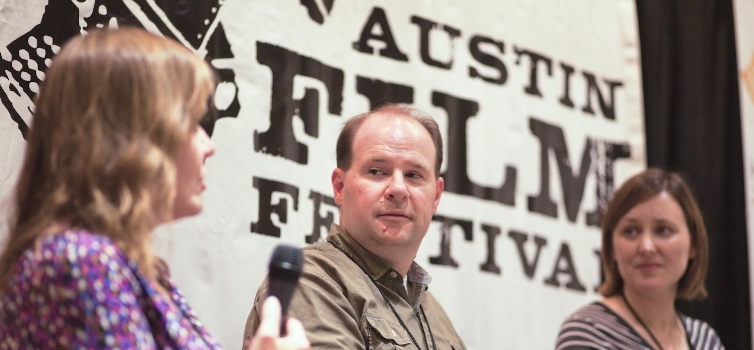 Screenwriter Mike Sundy at Austin Film Festival