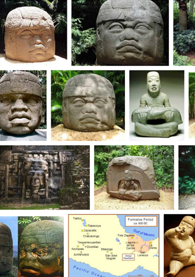 Gathering Olmec imagery also helps shape the story.