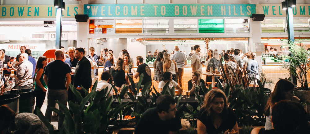 Launch PR and event planning for dining precinct, Welcome to Bowen Hills