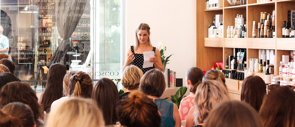 Wellness Community Event Series with holistic facials, Kindred Toxin Free
