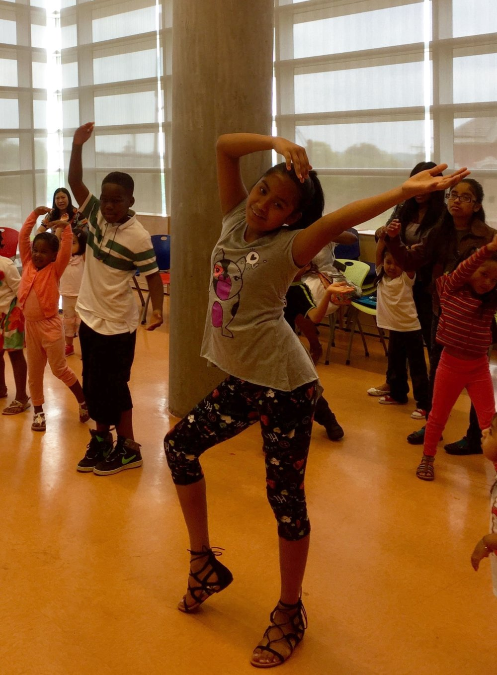 Move, Create and Collaborate - Move, Create and Collaborate, is an arts integrated creative dance residency for grades k-12, that engages students in an exploration of classroom curriculum through movement and dance-making. Directed by choreographer and dance educator, Sarah Council, students will have the opportunity to experience the joy of movement while participating in problem solving, self expression and collaboration. Working collaboratively, students will create choreography that explores a curriculum area selected by classroom teachers such as science, math, language arts and social studies. SCDP creates a rich immersive arts experience for all participants and provides educators with accessible arts integration strategies that empower them to carry the work forward for years to come!Educators may select from the residency offerings listed below or chose to work with SCDP to create custom content for their classes.For more information on residencies, scheduling and pricing contact: info@sarahcouncildance.com