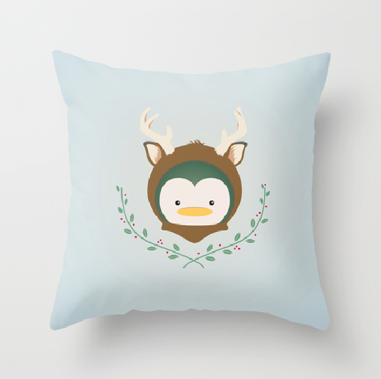 My Deer Penguin Pillow