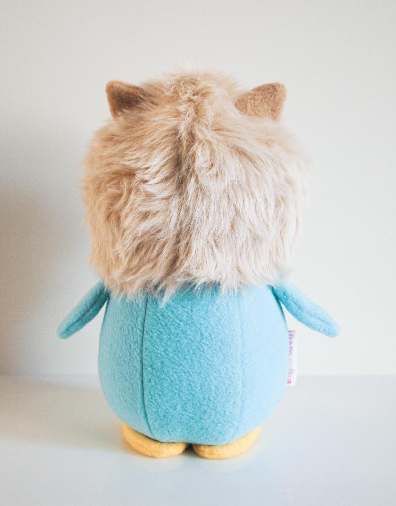 Penguin_Hedgehog_Back