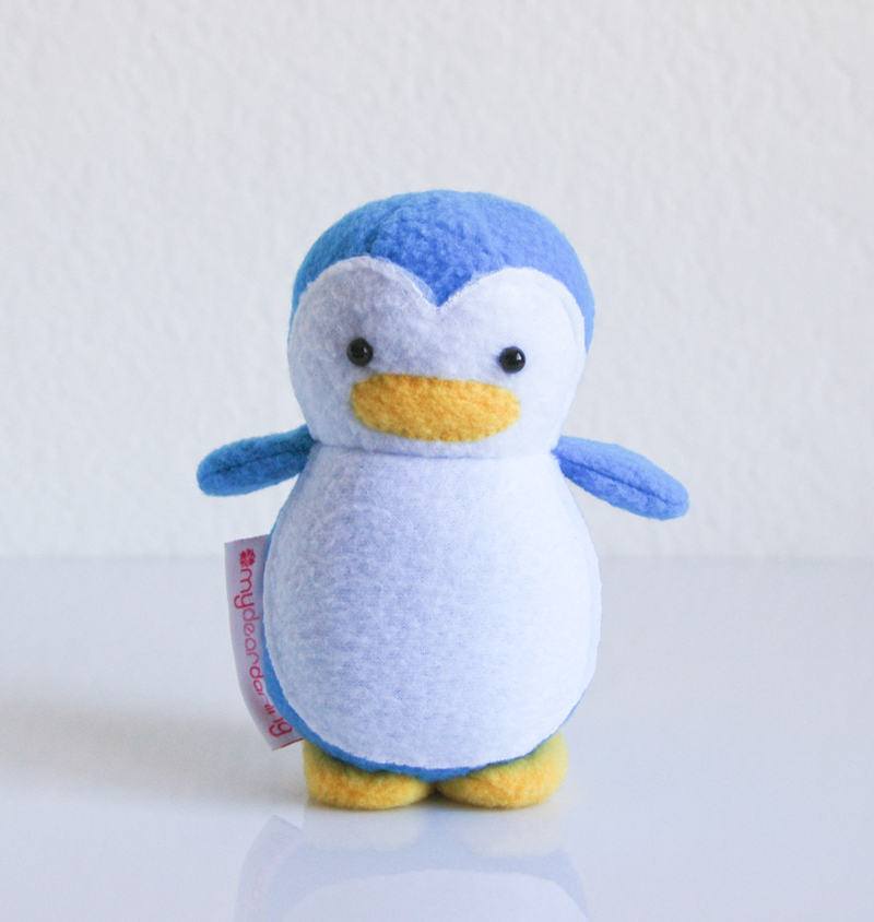 Mini Penguin Owl Blue