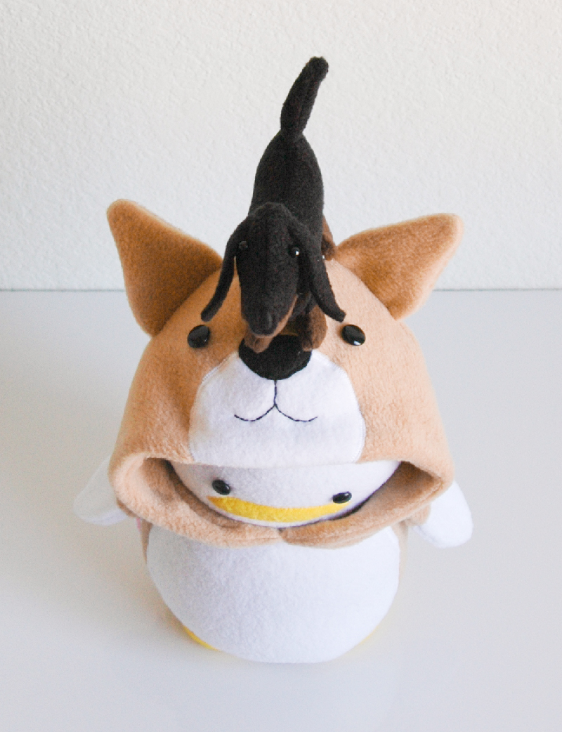 Penguin_CorgiWDachshund2