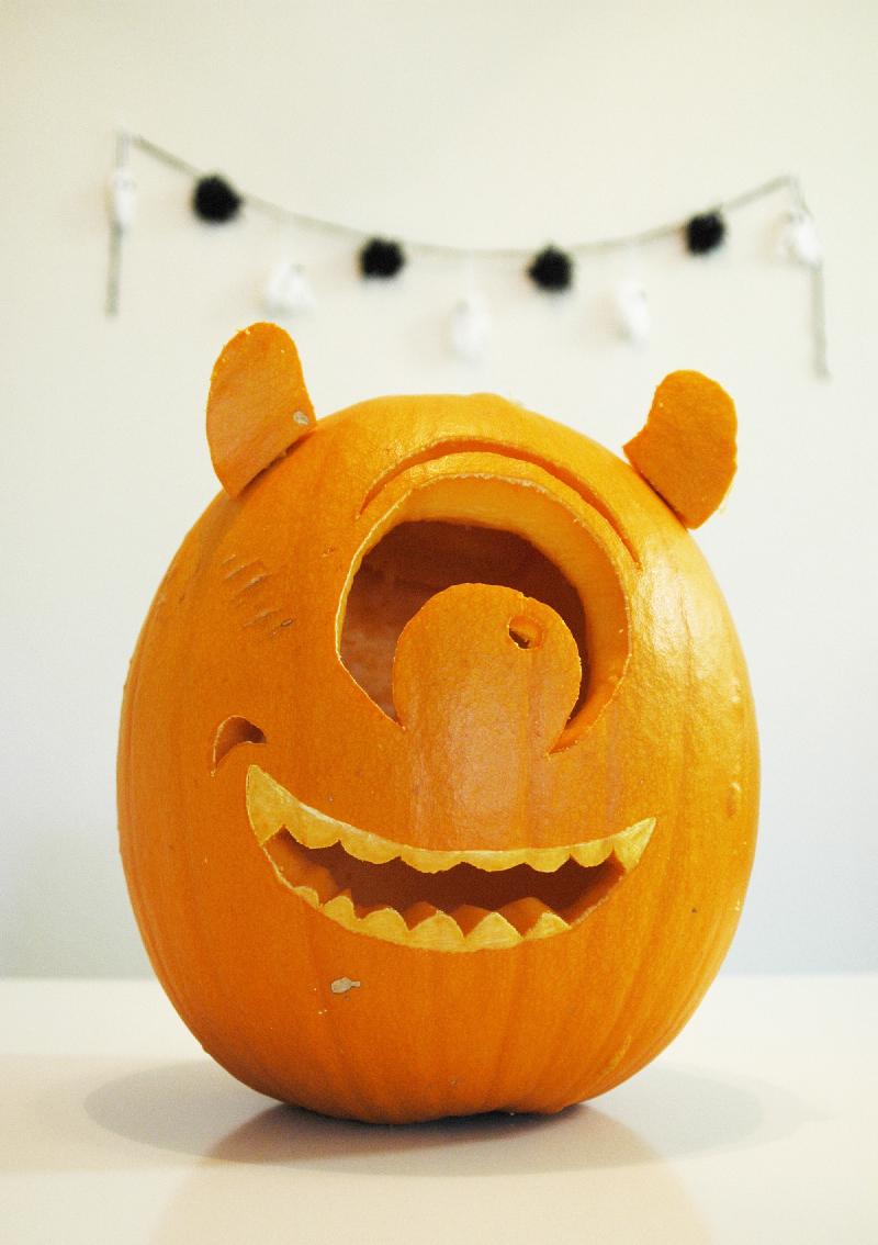 Mike Wazowski Pumpkin & Giveaway — My Dear Darling