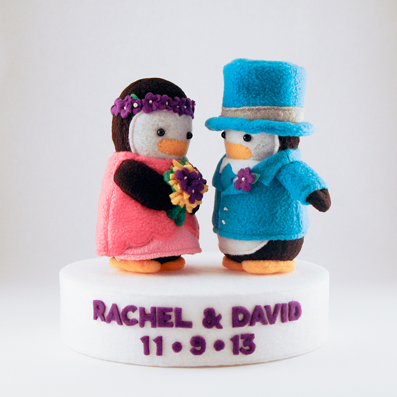 Wedding Penguins 2013