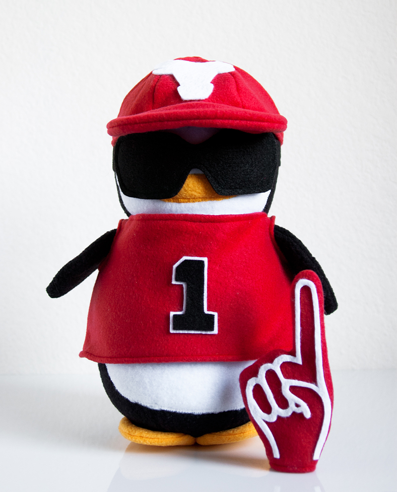 Bulls Fan Penguin