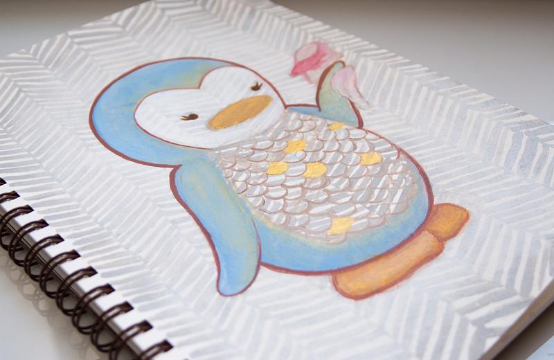 My Dear Darling Sketchbook