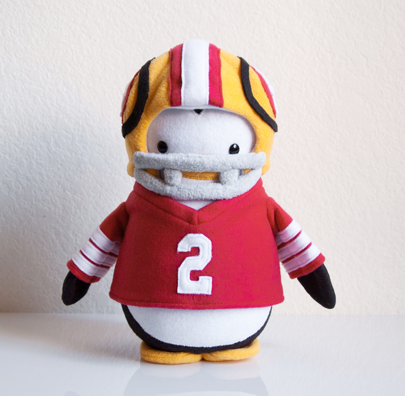 49er Fan Penguin