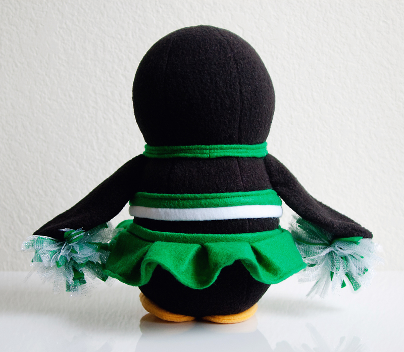 Celtics Cheerleader Penguin