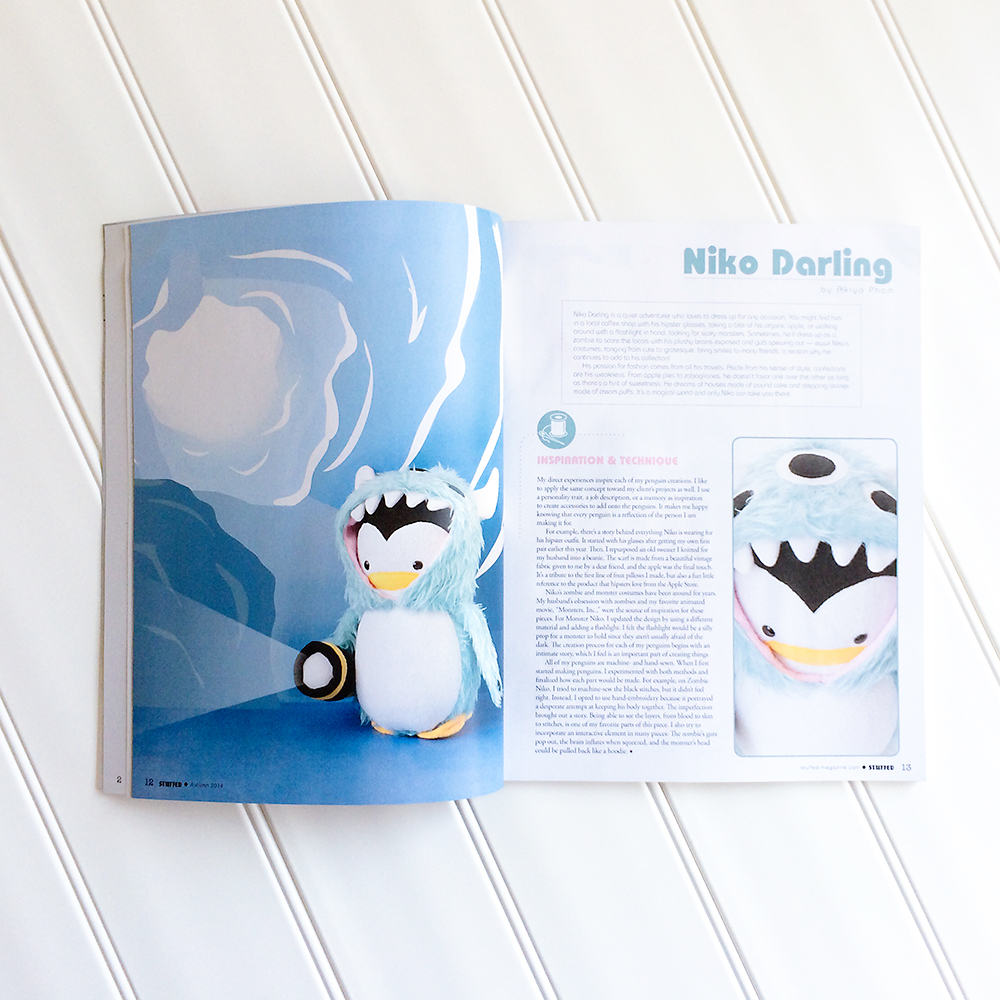 My Dear Darling in Stuffed Magazine